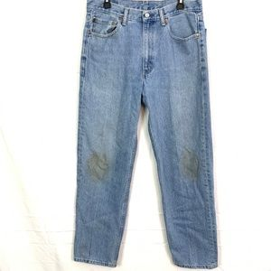 LEVI'S 550 Vintage Relaxed Tapered Leg Jeans 34x32